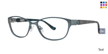 Teal Kensie RX Chiffon Eyeglasses