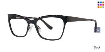 Black Kensie RX Beauty Eyeglasses
