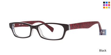 Black Kensie Flair Eyeglasses - Teenager