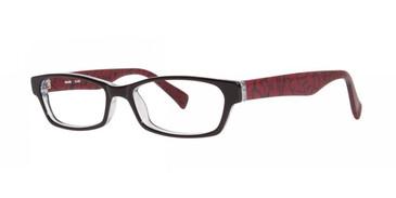 Black Kensie Flair Eyeglasses - Teenager