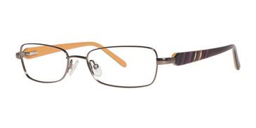 Brown Kensie Mismatch Eyeglasses