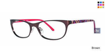 Brown Kensie Romantic Eyeglasses