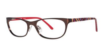 Brown Kensie Romantic Eyeglasses