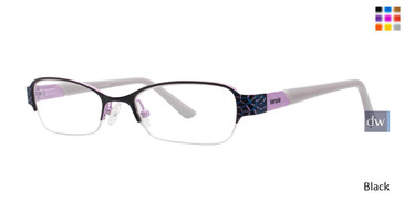 Black Kensie Ambitious Eyeglasses - Teenager