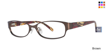Brown Kensie Glowing Eyeglasses