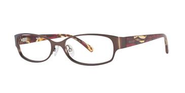 Brown Kensie Glowing Eyeglasses