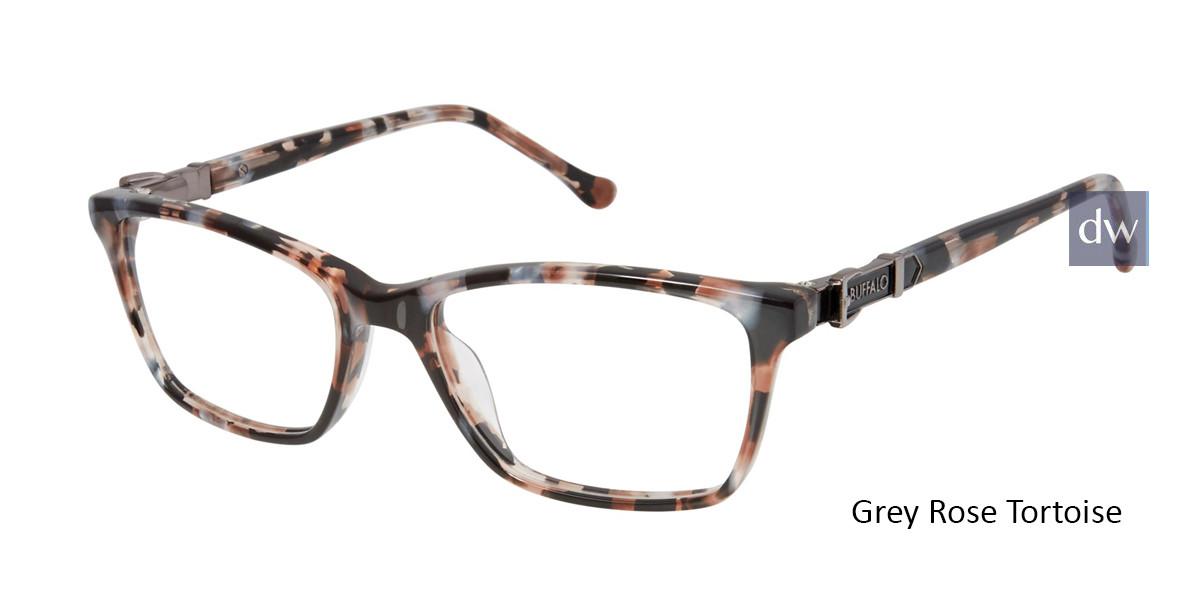 Grey Rose Tortoise Buffalo BW002 Eyeglasses - Teenager.