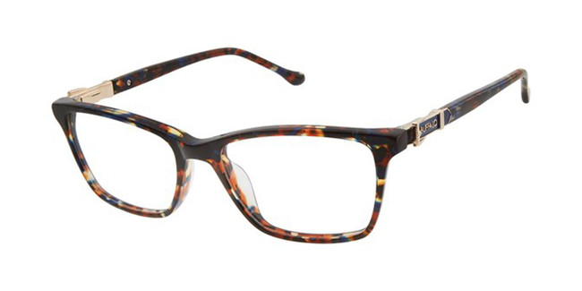 Blue Tortoise Buffalo BW002 Eyeglasses - Teenager.