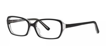 Black Kensie Discreet Eyeglasses