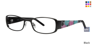 Black Kensie Graffiti Eyeglasses