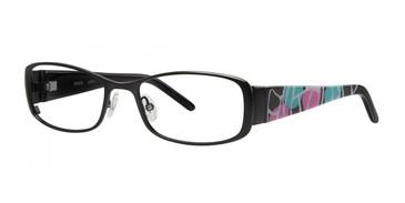 Black Kensie Graffiti Eyeglasses