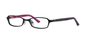 Black Kensie RX Checked out Eyeglasses