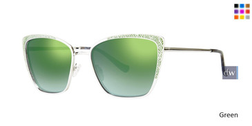Green Kensie Book it Sunglasses