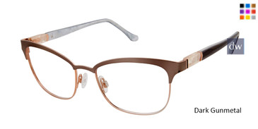 Dark Gunmetal Buffalo BW501 Eyeglasses.