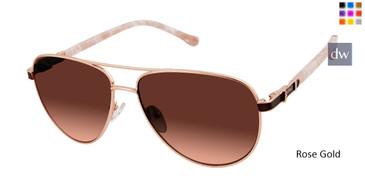 Rose Gold Buffalo BWS006 Sunglasses.