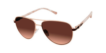 Rose Gold Buffalo BWS006 Sunglasses.