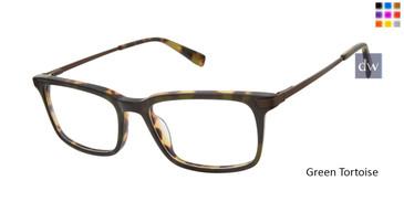 Green Tortoise Buffalo BM003 Eyeglasses.