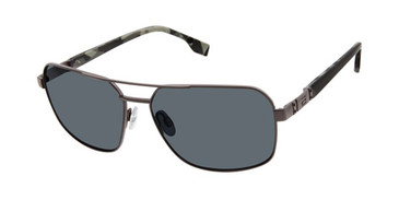 Gunmetal Grey Buffalo BMS002 Sunglasses.