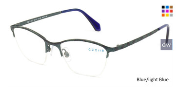 Blue/Light Blue C-Zone M1212 Eyeglasses - Teenager.