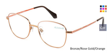 Bronze/Rose Gold/Orange C-Zone M2245 Eyeglasses.