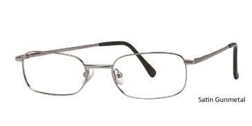 Satin Gunmetal Vivid  Eyeglasses Euro-Steel Flex 76