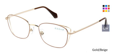 Gold/Beige C-Zone M2246 Eyeglasses.