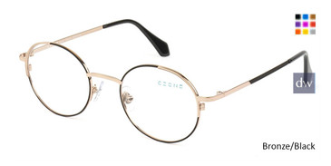 Bronze/Black C-Zone M2247 Eyeglasses - Teenager.