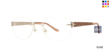Gold Totally Rimless 269 Filigree Eyeglasses.