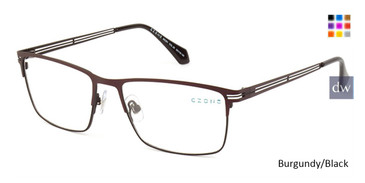 Burgundy/Black C-Zone M2251 Eyeglasses.