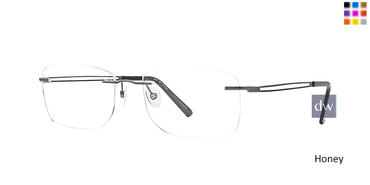 Honey Totally Rimless 275 Force Eyeglasses.