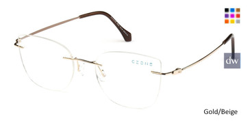 Gold/Beige C-Zone M2252 Eyeglasses.