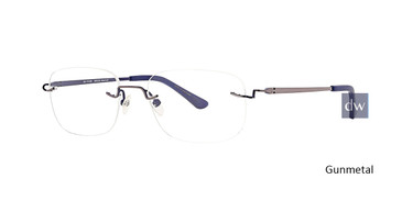Gunmetal Totally Rimless 278 Discover Eyeglasses.