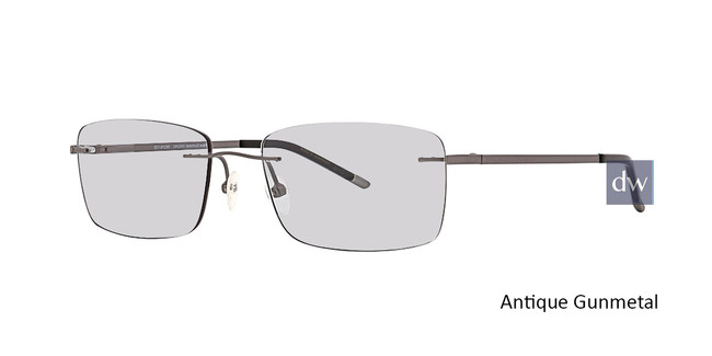 Antique Gunmetal Totally Rimless 281 Explore Eyeglasses.