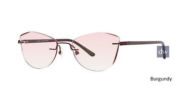 Burgundy Totally Rimless 285 Inspire Eyeglasses.