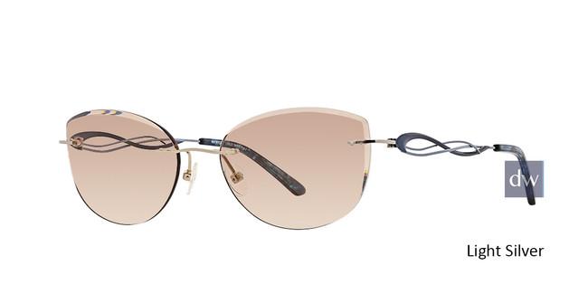 Light Silver Totally Rimless 286 Imagine Eyeglasses.