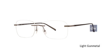 Light Gunmetal Totally Rimless 288 Circuit Eyeglasses.