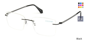 Black C-Zone M2253 Eyeglasses.