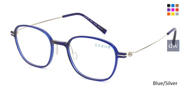 Blue/Silver C-Zone M3213 Eyeglasses.
