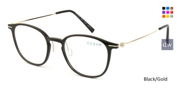 Black/Gold C-Zone M3214 Eyeglasses - Teenager.