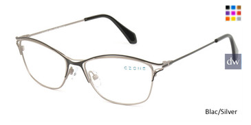 Black/Silver C-Zone M3216 Eyeglasses.
