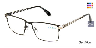 Black/Gun C-Zone M3217 Eyeglasses.