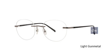 Light Gunmetal Totally Rimless 292 Digital Eyeglasses.