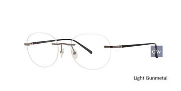 Light Gunmetal Totally Rimless 292 Digital Eyeglasses.