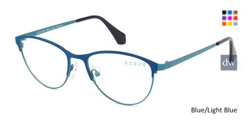 Blue/Light Blue C-Zone M6138 Eyeglasses - Teenager.