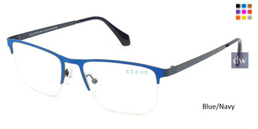 Blue/Navy C-Zone M6139 Eyeglasses.