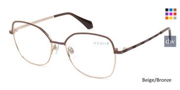 Beige/Bronze C-Zone Q2235 Eyeglasses.
