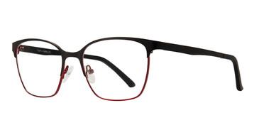 Black Cherry Eight To Eighty Hazel Eyeglasses.