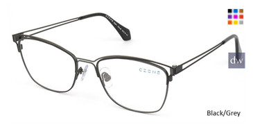Black/Grey C-Zone Q2241 Eyeglasses.