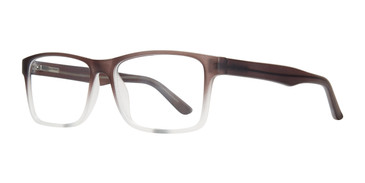 Black Fade Affordable Design Rodney Eyeglasses