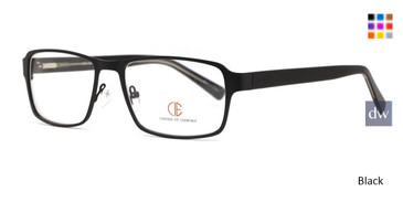 Black CIE SEC137 Eyeglasses.